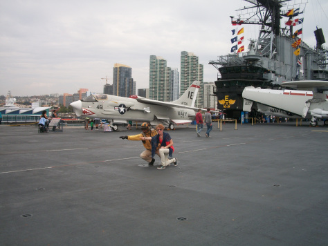 USS-Midway-San-Diego-porto