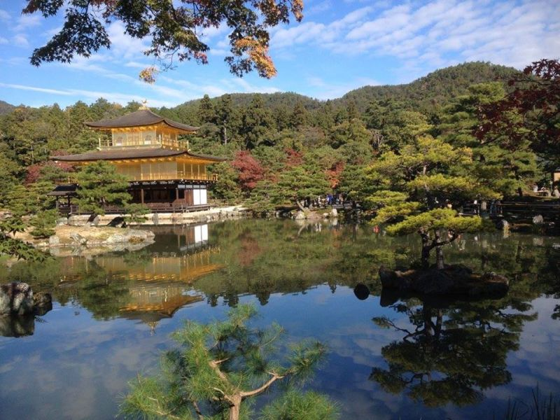 Kyoto-Kinkaku-ji-temple-Giappone