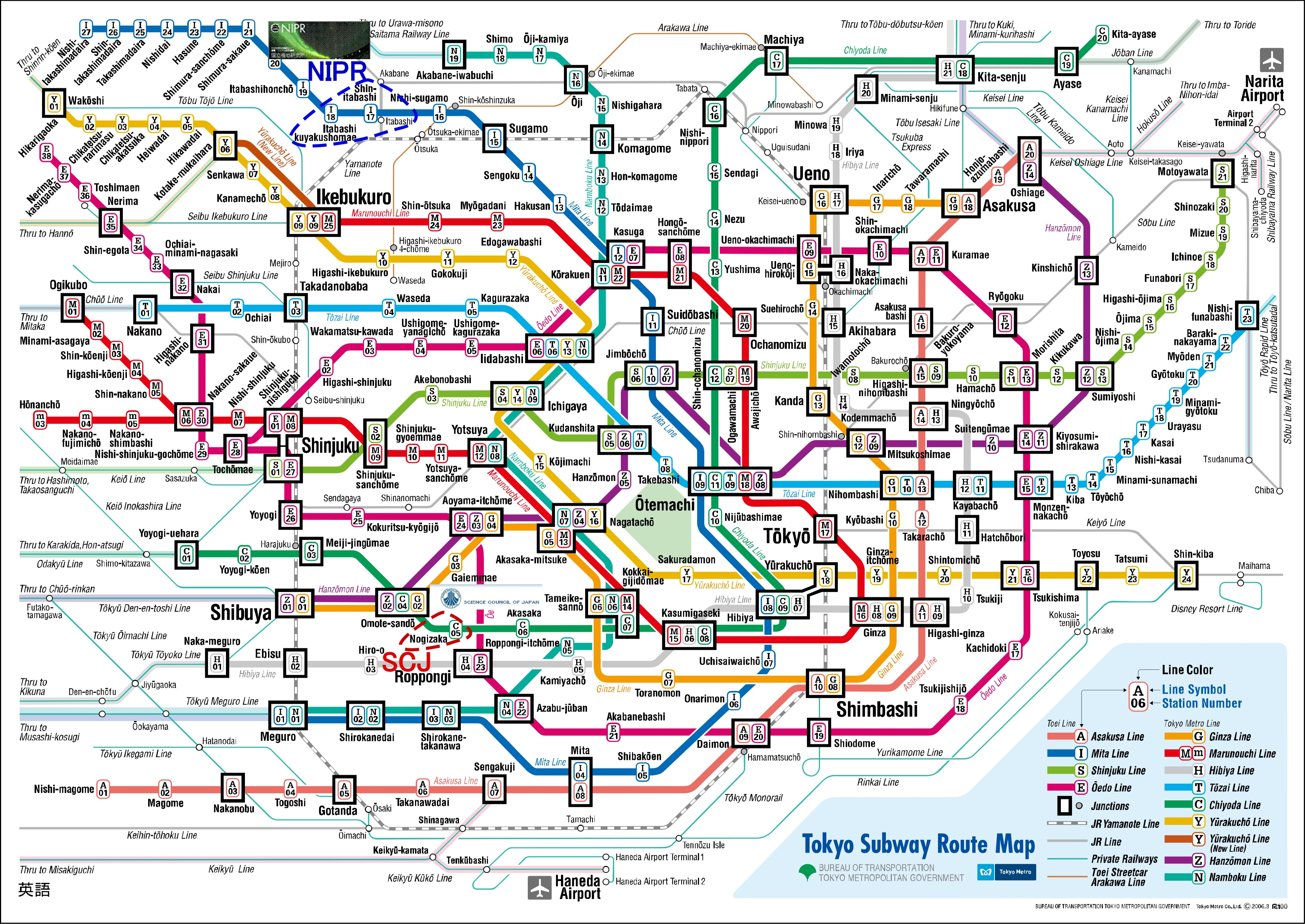 Tokyo-Subway-Route-Map