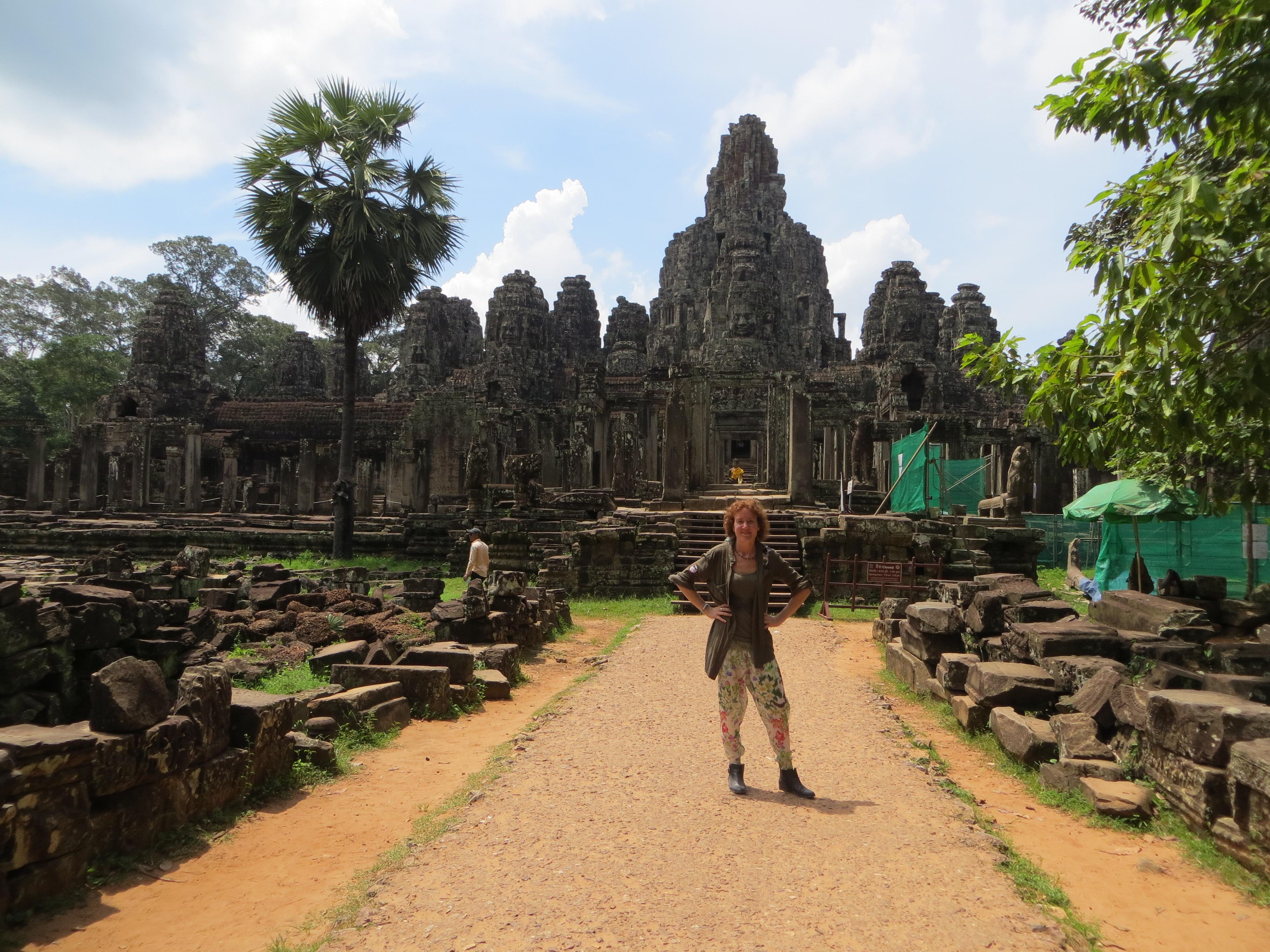 Io-Bayon-temple-Cambogia