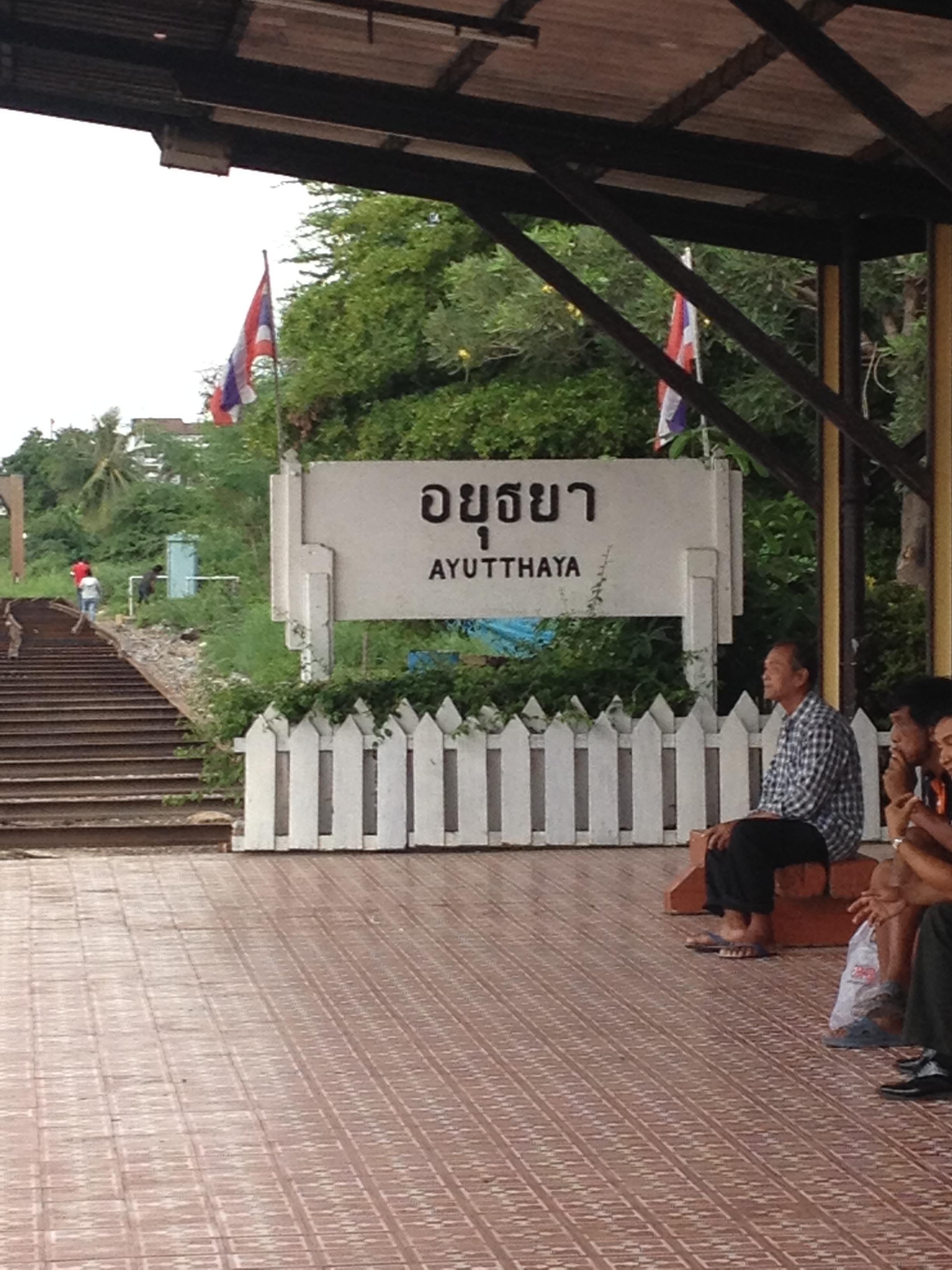 stazione-ferroviaria-Ayutthaya
