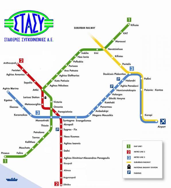 Atene-mappa-metro-città