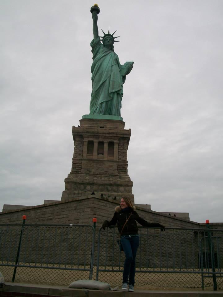 Io-e-statua-libertà-New-York-city