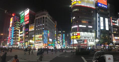 Shinjuku-by-night-Tokyo