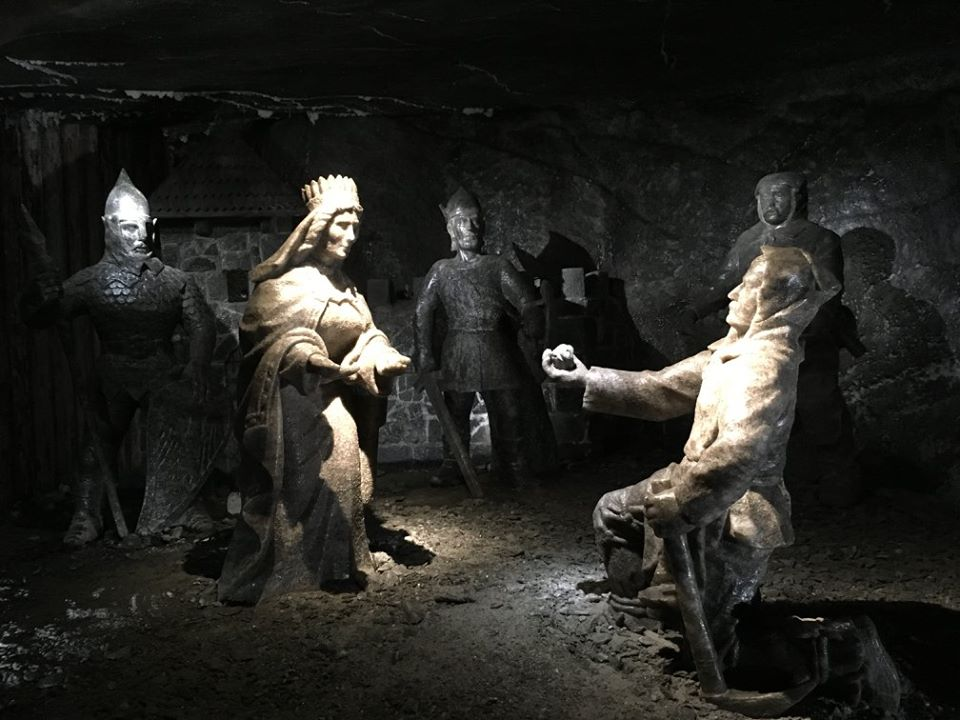 statue-e-santa-kinga-wieliczka