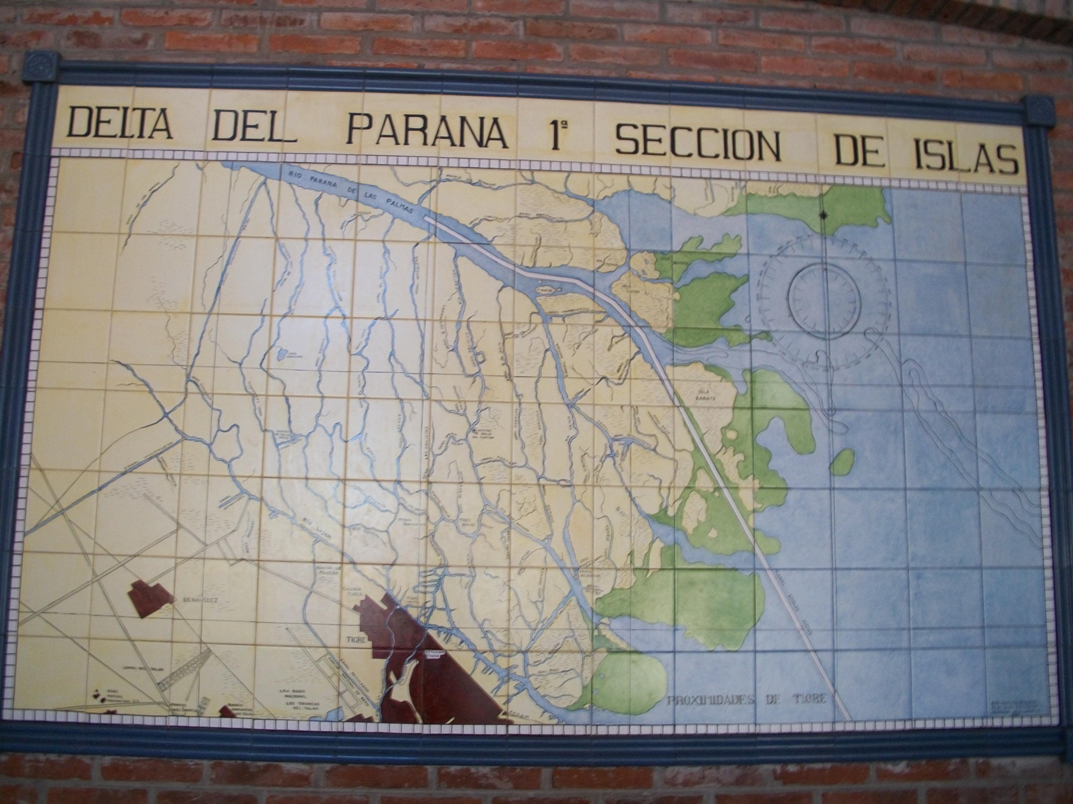 mappa-delta-parana